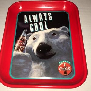 Always Cool Coca-Cola Polar Tray Serving Tray